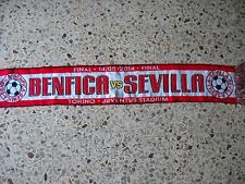 sciarpa SEVILLA - BENFICA final europa league 2014 football club scarf a