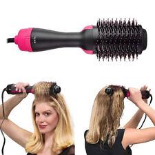 Portable 4 in 1 Hot Air Hair Dryer Styler Heat Comb Brush Straightener Curler