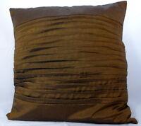 *Freedom Tree's*  Quality Thai Silk Ripple Cushion Covers 16 Beautiful Colours