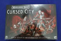 Warhammer Quest Cursed City Board Game BRAND NEW GAMES WORKSHOP