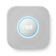 Nest Protect 2nd Gen Smoke and Carbon Monoxide Alarm, Battery Power, UNOPENED