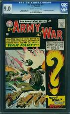 Our Army At War #151 CGC 9.0 DC 1965 1st Ememy Ace! Sgt Rock from #83! F7 184 cm
