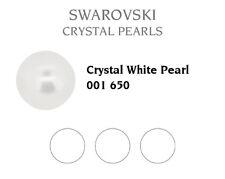 Genuine SWAROVSKI 5809 NoHole Round Crystal Pearls * Many Sizes & Colors