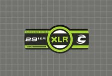 CANNONDALE Lefty 29er XLR 100 Band Forks Decal Sticker Adhesive Black Green