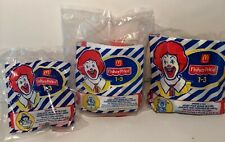 FISHER PRICE MCDONALDS HAPPY MEAL UNDER 3 TOYS LOT OF 3 SEALED