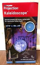 Led Lightshow Projection Kaleidoscope Icy Blue Holiday Decor Indoor/Outdoor