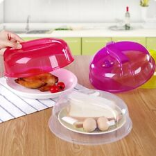 Microwave Plates Cover Steam Vent Lid Dish Food Anti-Splatter Home Kitchen Tool