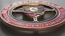 Club de Porsche parrilla insignia emblema insignia de Porsche 911 356 912 914 930 964 993