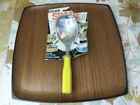 Vtg Nevco Kitchen Spade Ice Cream Scoop Spoon Yellow Plastic Aluminum NOS Japan