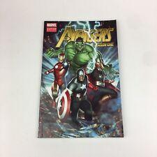 The Avengers Season One Marvel Custom Edition Graphic Novel Comic 2012 Softcover