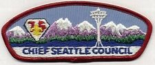 Chief Seattle Council - 1985 Diamond Jubille DJ 75th CSP