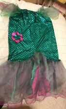 Vestito Carnevale Sirena Coda Gonna Verde