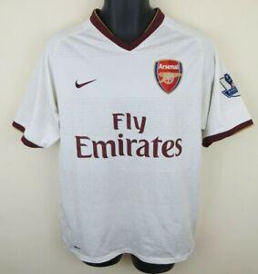 Nike 2007-08 Arsenal Football Shirt KOLO TOURE Soccer Jersey Herbert Chapman M