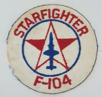 Starfighter F-104 Air Force Aircraft Patch Original Vintage Plane badge 5 inch