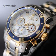 Invicta Mens 80078 White Dial Scuba Pro Diver Bracelet Watch