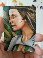 GAME OF THRONES NATALIE DORMER PSC SKETCH CARD BY JONATHAN D GORDON ACEO
