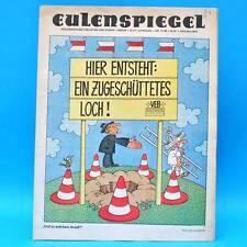 Eulenspiegel 31/1986 | DDR-Wochenzeitung für Satire und Humor | Geburtstag A