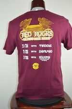 The String Cheese Incident RED ROCKS  Tour Shirt Keep It Gangster T Shirt XL