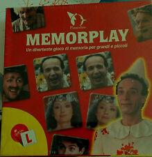 Benigni - gioco da tavolo memory film pinocchio con plastichina