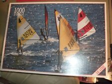 New Windsurfing From World Games-1000 piece jigsaw puzzle.