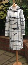 Designer Coat by Full Circle Duffle Coat w Hood Woman's Size 8 Timeless Classic