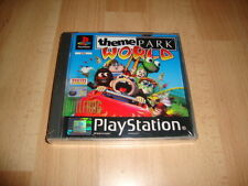 THEME PARK WORLD PARA LA SONY PS1 TOTALMENTE EN CASTELLANO NUEVO PRECINTADO
