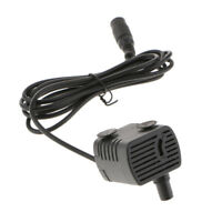 Ultra Quiet Mini DC Brushless Motor Submersible Water Pump, Female DC 12V