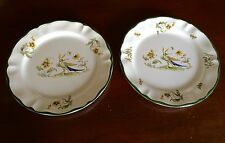 Varages Vieux Provence France Set of 2 Dinner Plates - Bird & Insect