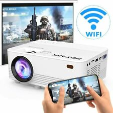 Wireless WiFi Full HD 1080P Portable 4500 Lumens Mini Home Video Projector