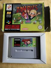 ZOMBIES - Super Nintendo Snes - Boite BE version allemande