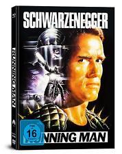 Mediabook Running Man Arnold Schwarzenegger Blu-Ray+DVD+Soundtrack CD Nuevo