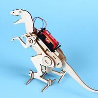 Kids Creative Education Wood Science Toys Crawling Dinosaur Assembled Model