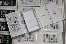25x Apple iPhone 5S Originalverpackung Karton OVP BOX  Leerverpackung SILBER