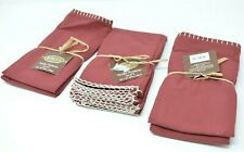Bardwil Avery Mahogany 6-Pc. Cotton Table Napkin Set