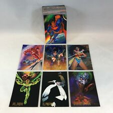 DC COMICS / PEPSI CARDS from MEXICO Complete 100 Card Set Based on MASTER SERIES
