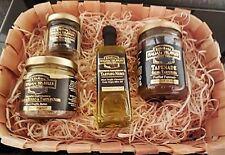 Trüffel Set Präsentkorb Trüffelbutter echte Trüffel Trüffelöl Tapenade ITALIEN !