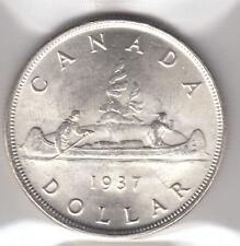 1937 Canada $1 Silver Dollar - ICCS MS-64 - Cert #XEB844