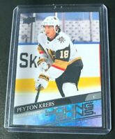 2020-21 UPPER DECK SERIES 1 PEYTON KREBS YOUNG GUNS #239 VEGAS GOLDEN KNIGHTS RC