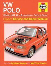 Haynes propietarios + Taller de coche Manual Vw Polo Hatchback Gasolina + Diesel H3500