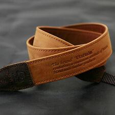 MATIN D-SLR RF Mirrorless Camera Leather Neck Shoulder Strap Vintage-30 Tan