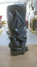 "Rare Bosko Tiki Mug 31/35 big and beautiful - vintage style glaze 7"" tall now"