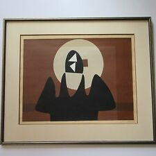 GUY MCCOY SERIGRAPH SILKSCREEN  MID CENTURY MODERN ABSTRACT CUBISM EXPRESSIONISM