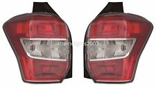 SUBARU FORESTER 2014-2015 RIGHT LEFT TAILLIGHTS TAIL LIGHTS LAMPS REAR PAIR