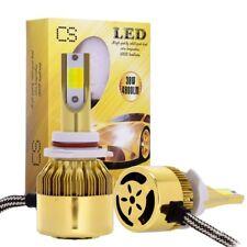 2x 9006 hb4 76W 9600LM Dual Color LED Headlight Lamp Power Bulbs 6000K/3000K Kit