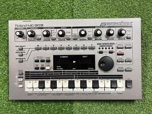 Roland MC-303 Groovebox 90's Drum Machine Sound Module Synthesiser Sequencer