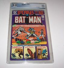 Batman #256 - PGX VF 8.0 - DC 1974 Bronze Age 100-Page issue (Catwoman)