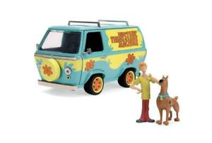 Jada Toys Mystery Machine with Shaggy & Scooby-Doo Diecast Van Item 31720 1:24