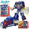 TRANSFORMERS FIRST EDITION OPTIMUS PRIME LEADER ACTION FIGURES TRUCK CAR KID TOY