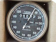120 mph Speedometer Smiths replica black face