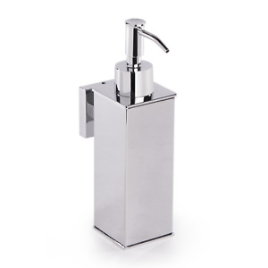 Wall Mounted Stainless Steel Soap Dispenser Soap & Sanitiser Dispenser | M&W